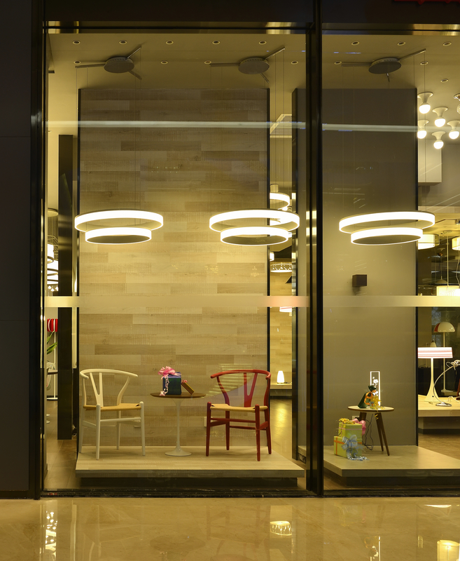 Window lighting shop